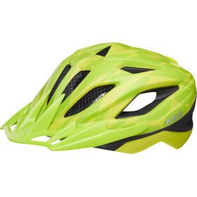 KED Street Jr. Pro casco per bici Bambino giallo/verde